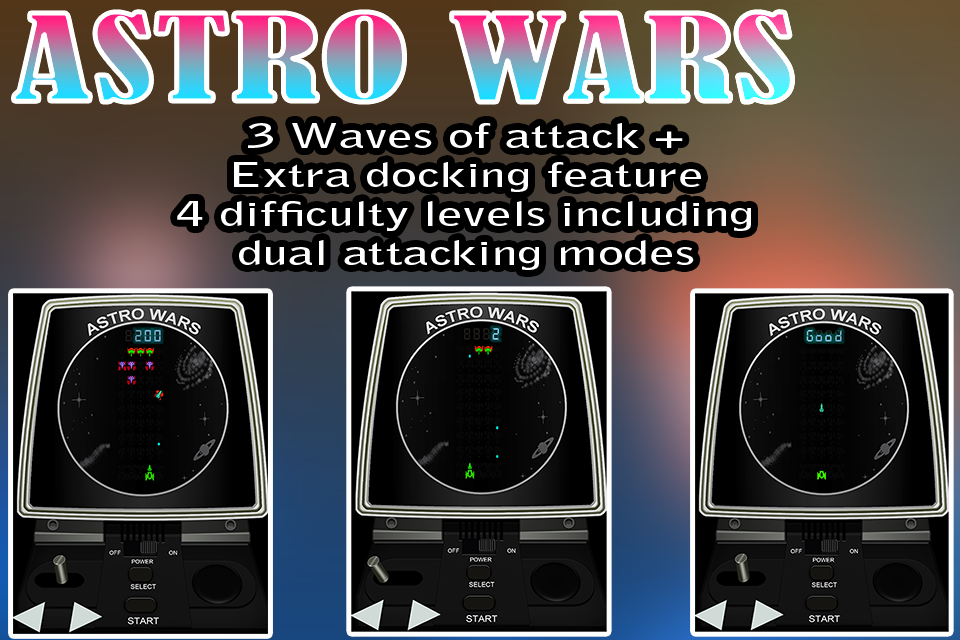 👾 Astro Wars 👾Retro game- screenshot