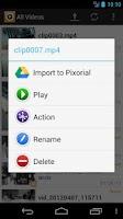 Screenshot of Pixorial MyPlayer HD