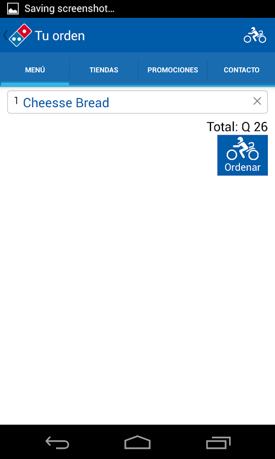 Domino's Pizza Guatemala - screenshot