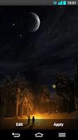 Screenshot of Fireflies Live wallpaper