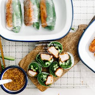 Tonkatsu Salad Roll Recipe + a Giveaway!