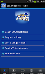 Beach Booster Radio- screenshot thumbnail