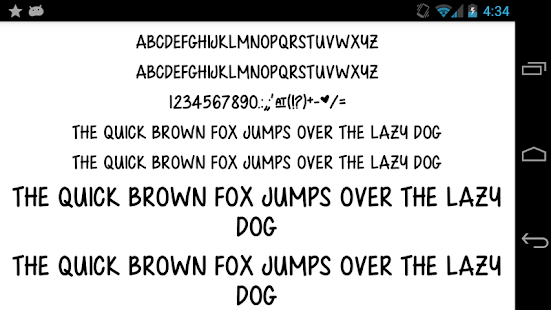 Fonts-for-FlipFont-50-Written 2