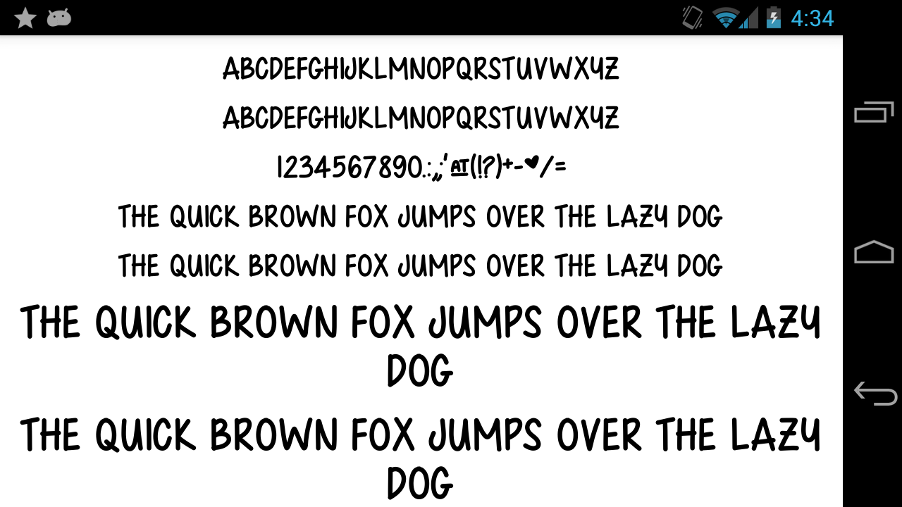Fonts-for-FlipFont-50-Written 8