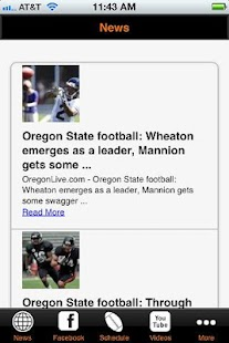 Oregon State Football - screenshot thumbnail