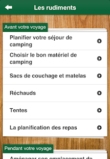 Initiation au camping – Vignette de la capture d'écran