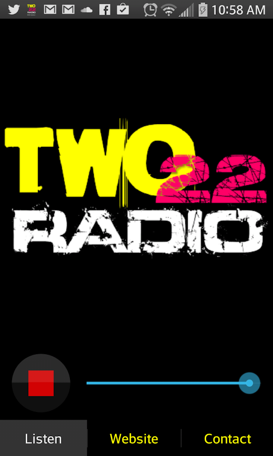 TWO22 Radio - screenshot