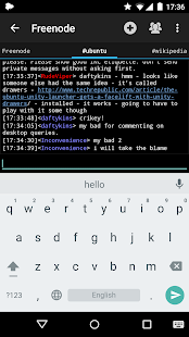 Yaaic - IRC Client- screenshot thumbnail