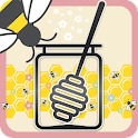 Honey Bees Live Wallpaper Free icon