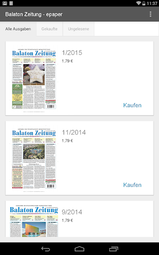 Balaton Zeitung - epaper