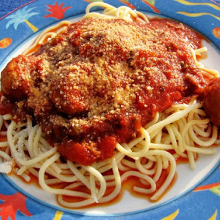 Spaghetti and Meatballs (Crock Pot)