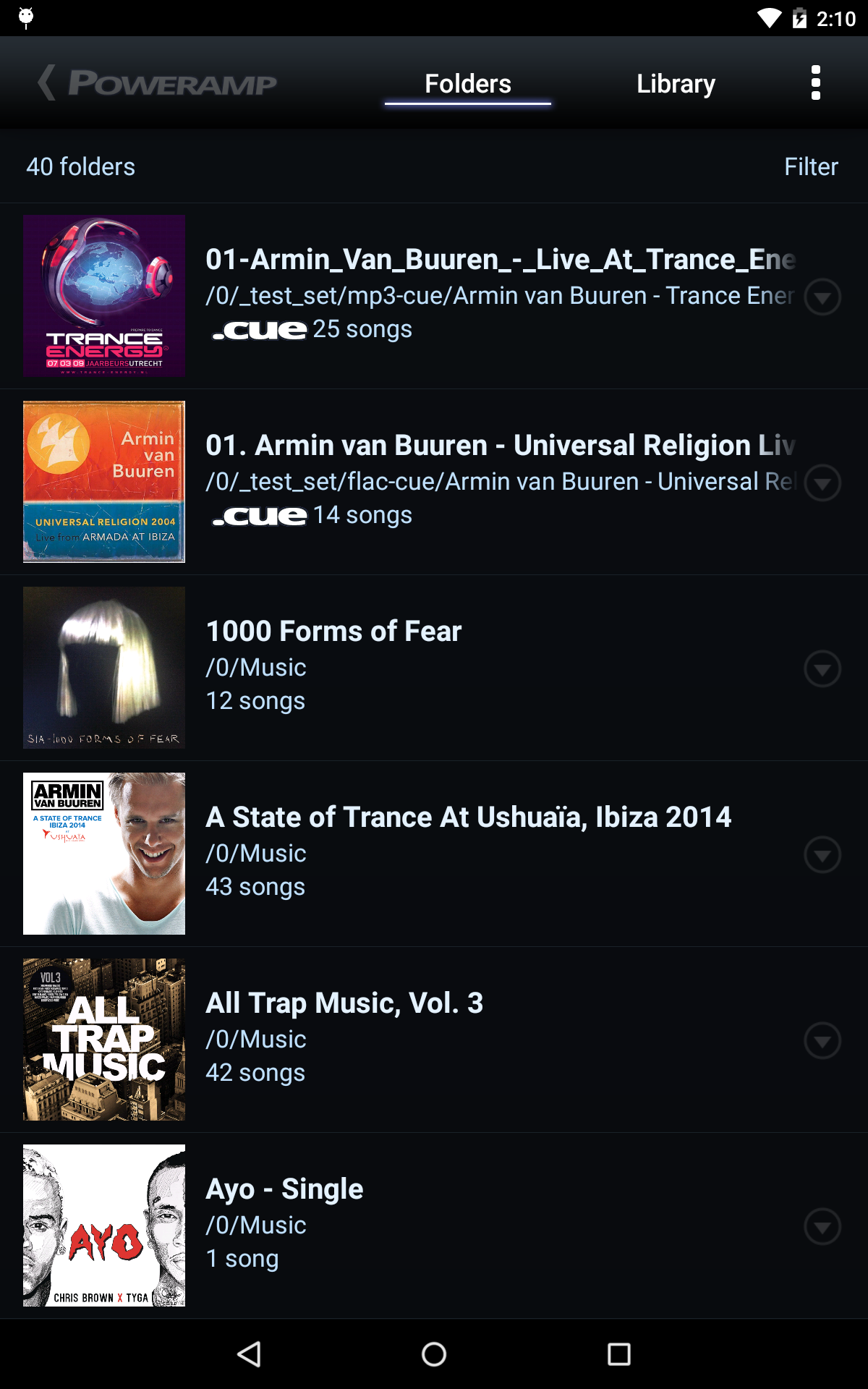 Poweramp Music Player (Trial) screenshot #20