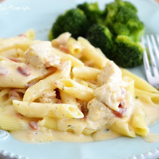 Cheesy Ranch Chicken Pasta