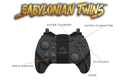 Babylonian Twins Platform Game - screenshot thumbnail