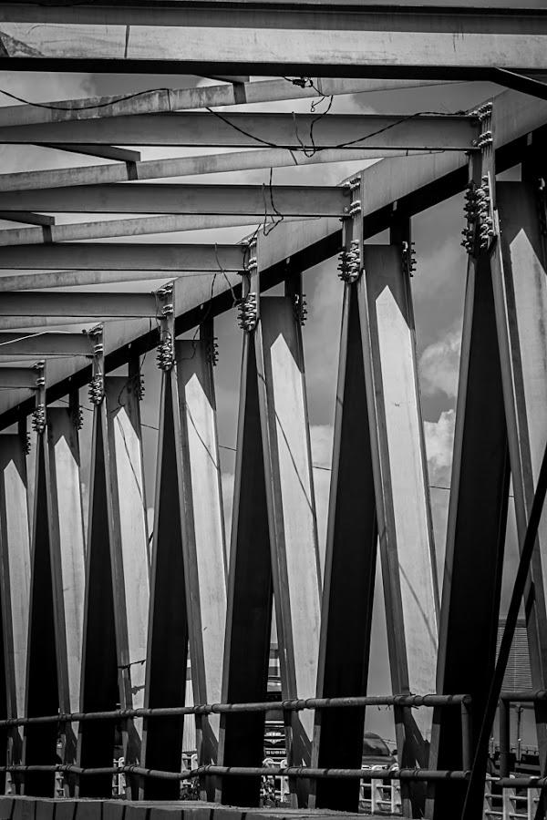 by Leo Ramli - Black & White Abstract