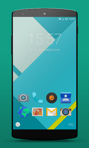 Lollipop Smart Launcher Theme