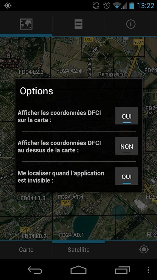 GPS-DFCI - screenshot
