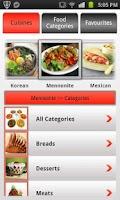 Screenshot of Recipe Guru