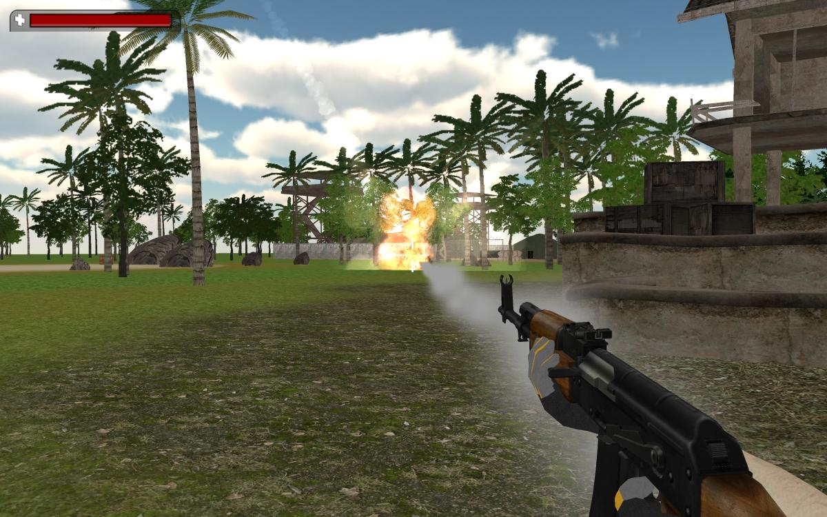 VR Commando Strike - 3D FPS- screenshot