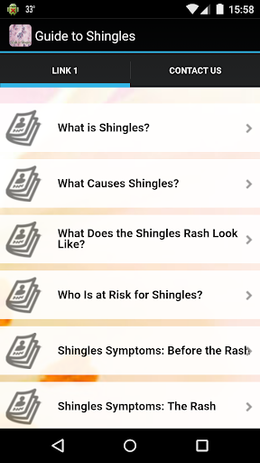 Guide to Shingles
