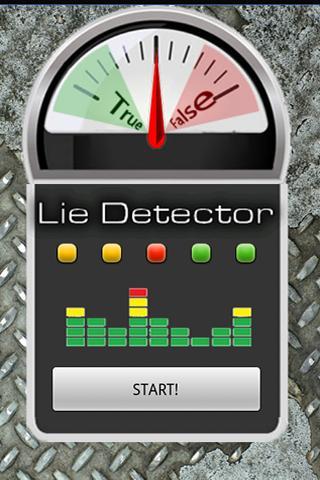 True/False Lie Detector Prank- screenshot
