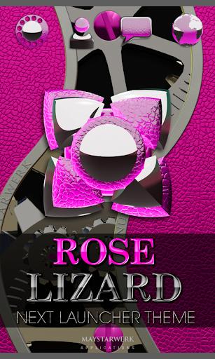 次のピンクのトカゲの HD テーマ NEXT