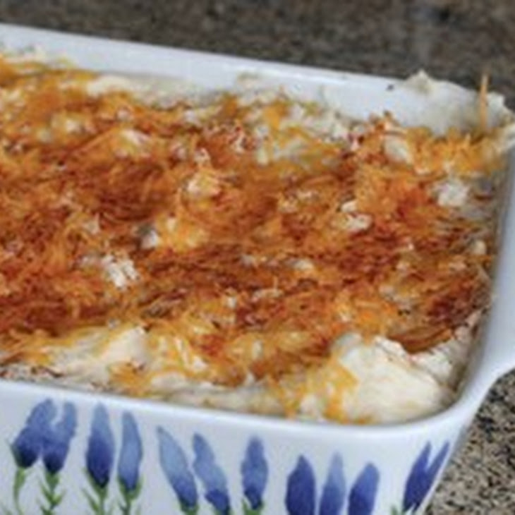 Ground Beef Casserole With Mashed Potato Topping