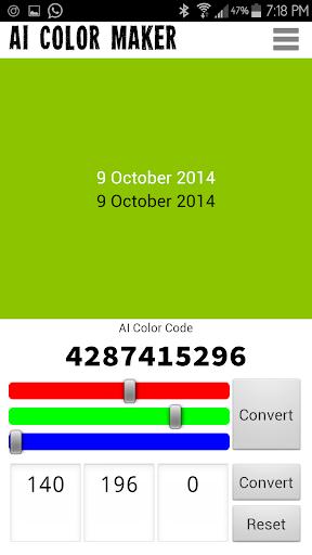AI Color Maker