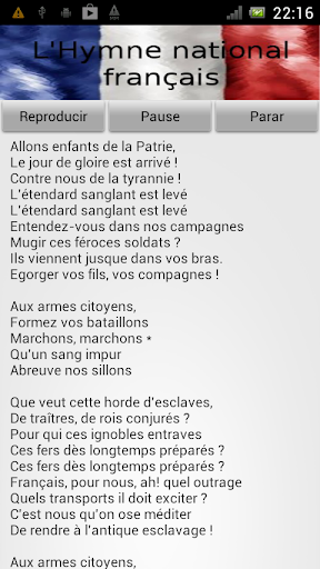 Hymne national français