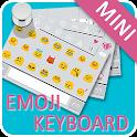 Emoji Keyboard-White,Emoticons icon