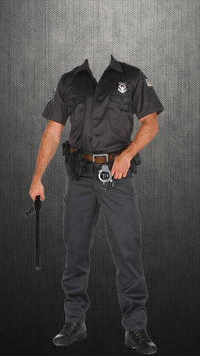 警方套裝照片拼貼