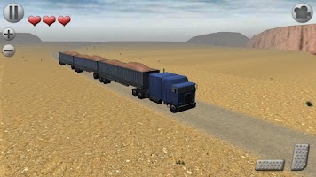 Screenshot of 3D Truck Parking