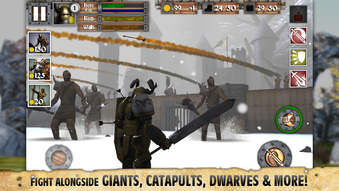 Heroes and Castles screenshot #5