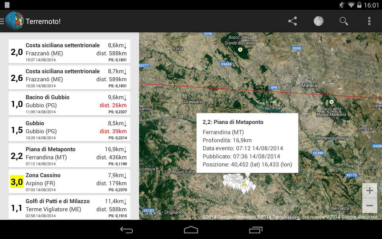 Terremoto! - screenshot