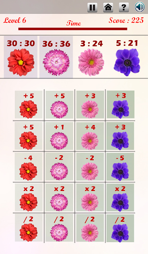 【免費休閒App】Math and Flowers-APP點子