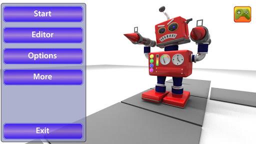 Red Bad Robot NoAds