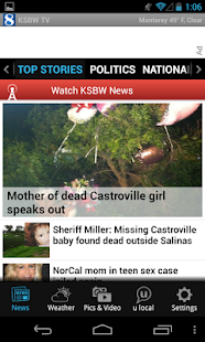 KSBW 8 – Central Coast news - screenshot thumbnail