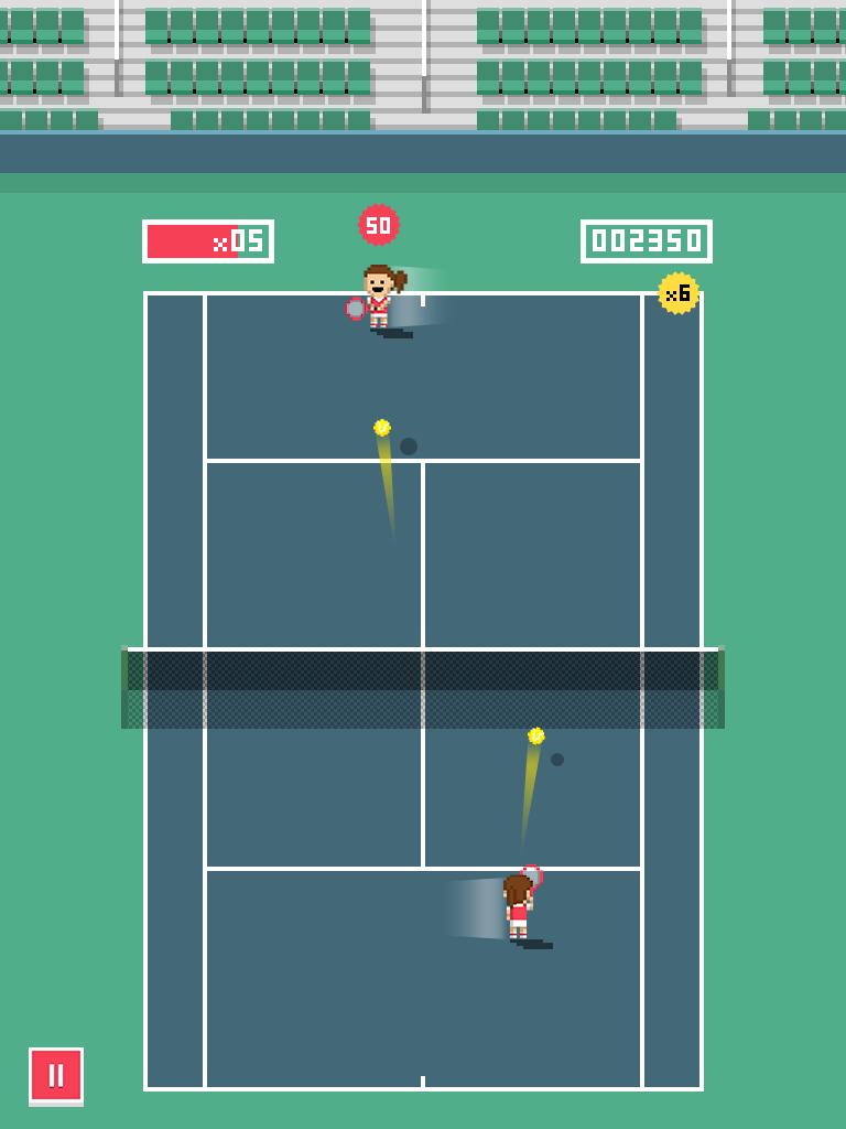 Tiny Tennis screenshot #3