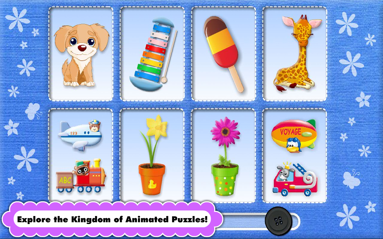 Kids Animated Puzzle -Toddlers- screenshot