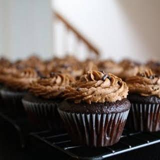 Chocolate Chocolate Cupcakes.
