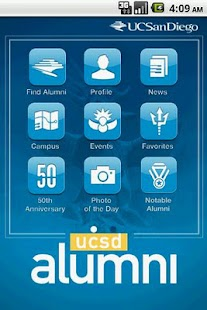 UCSD Alumni - screenshot thumbnail