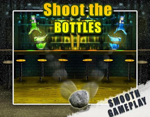 Shoot the bottles