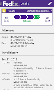 FedEx Mobile Screenshot 3