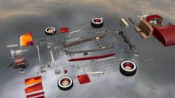 Screenshot of Car Disassembly 3D