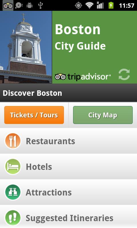 Boston City Guide screenshot #1