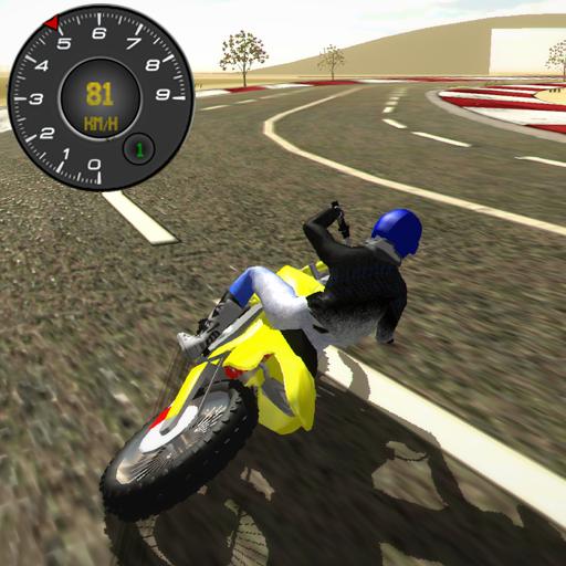 Motocross Driving Simulator