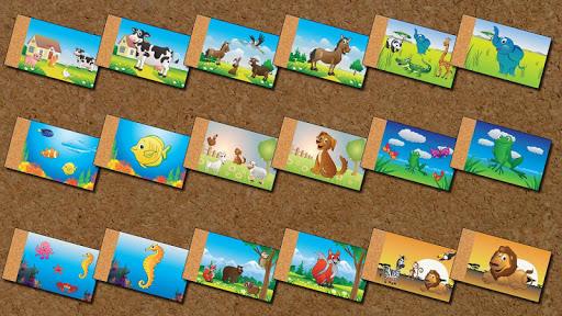 【免費教育App】Animal Puzzle for Kids-APP點子