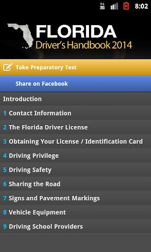 Florida Driver Handbook