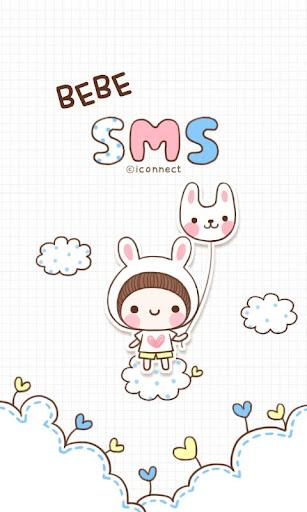 BeBe Rabbit SMS Theme