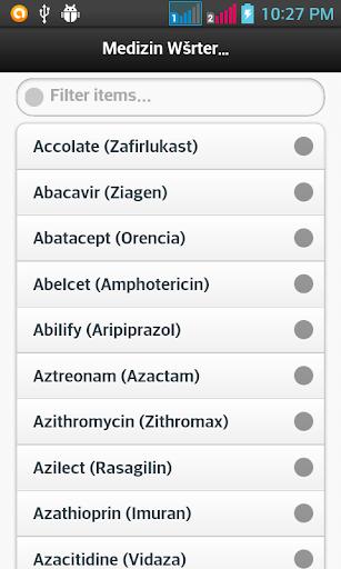 Medizin Wörterbuch